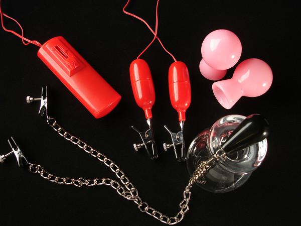 【販売終了・アダルトグッズ、大人のおもちゃアーカイブ】【限定特価!】激感ニップル セット (乳首責めセット)(A0661,A0663,W0862,W0989) ○ 商品説明画像1