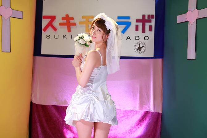 【会員限定250ポイント還元!】セクシーサテンウェディングドレス セット 商品説明画像4