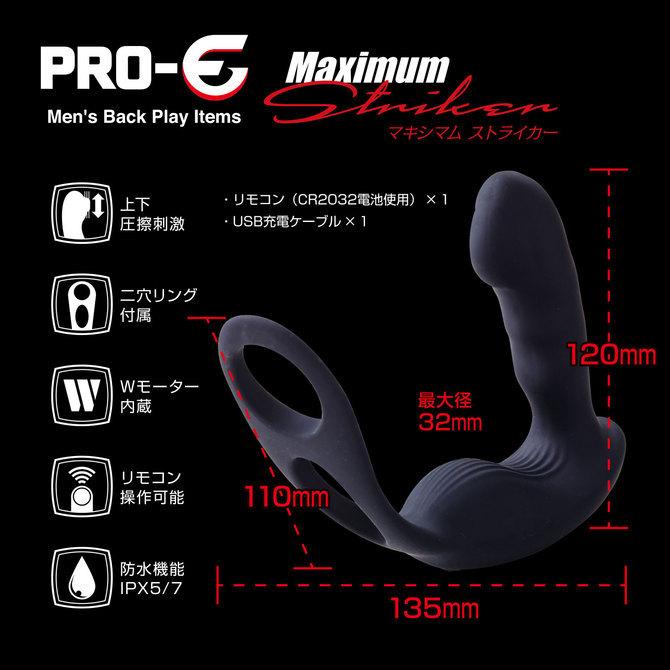 PRO-E Maximum Striker(プロイー マキシマム ストライカー) セット 商品説明画像8