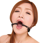 【50〜60%OFF!】虜プレミアム 金輪口枷