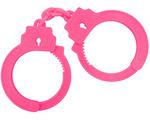【販売終了・アダルトグッズ、大人のおもちゃアーカイブ】HAND CUFFS【ハンドカフス-B0194】ピンク