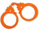 【販売終了・アダルトグッズ、大人のおもちゃアーカイブ】HAND CUFFS【ハンドカフス-B0217】オレンジ