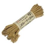 最高級プロ用 蜜蝋なめし麻縄 参間九尺(七米)