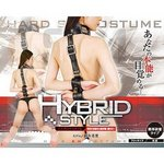 HYBRID STYLE ハイブリッドスタイル 020 背面式首輪付縦手枷 ■
