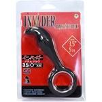 インベーダー アナルプラグ 3.5インチ 黒 142