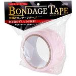 ラブファクター ボンデージテープ 桃 簡単拘束 非粘着SMテープ 20m使用