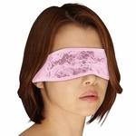 ストレッチレースアイマスク結びタイプ ピンク