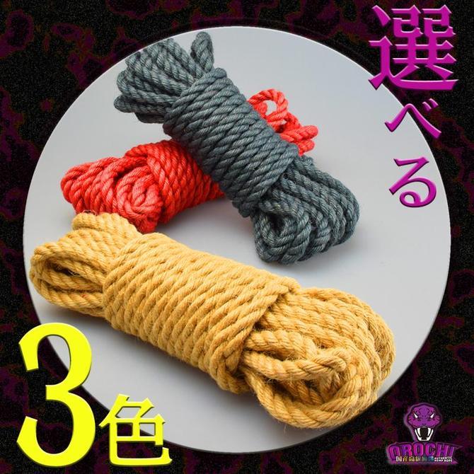 OROCHI 麻縄(レッド) 8m 商品説明画像6