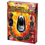 【タイムセール!】BACK FIRE10 TAMAGOROSHI ツインローター ダブルインパクト黒     LVFR-113