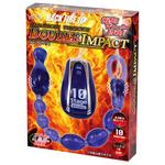 【半額タイムセール!】BACK FIRE10 TAMAGOROSHI ツインローター ダブルインパクト紫     LVFR-114