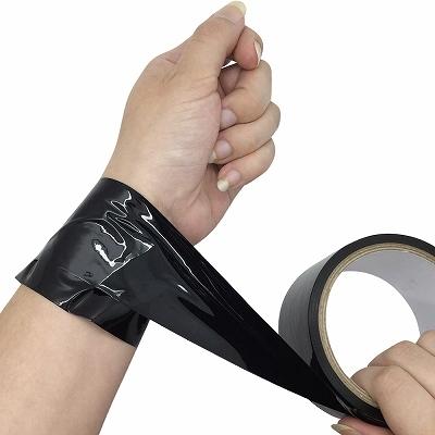 簡単緊縛ボンデージテープ20m ブラック 商品説明画像2