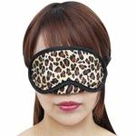 【50〜60%OFF!】鼻あて付きレオパードアイマスク