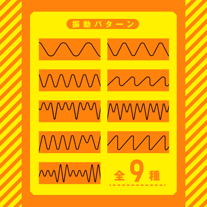 完全防水_メスイキバックバイブ9 ぷにっとアナルビーズ     UPPP-199 商品説明画像8