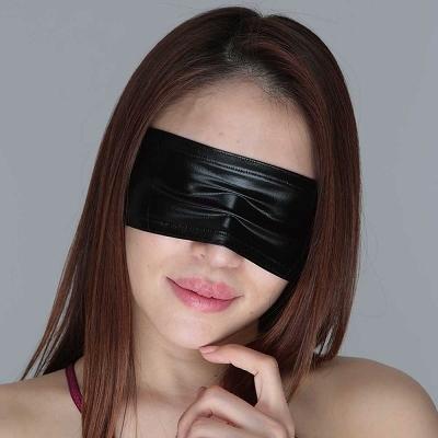 チェリーラブ メタリックアイマスク ブラック 商品説明画像1