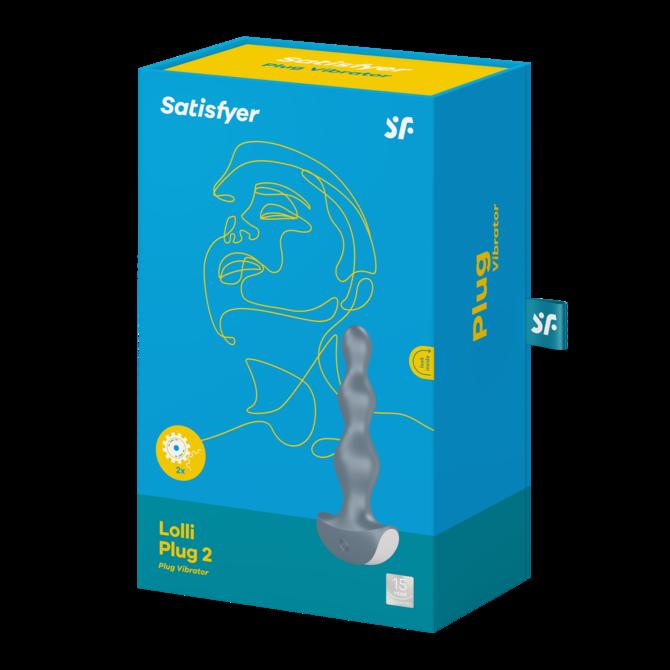 サティスファイヤー ロリプラグ2 アイスブルー / Satisfyer lolli-plug2 Ice blue 商品説明画像6