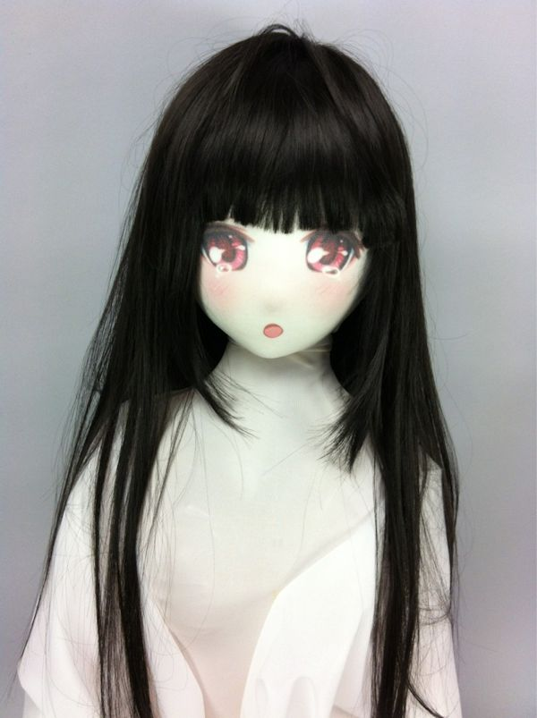 空気少女★宇佐羽えあ専用ウィッグ えあ★うぃっぐ(ロング)ブラック 商品説明画像2