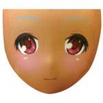 【限定100ポイント還元!】空気少女★宇佐羽えあ えあ★ますく FACE.08 小麦色(夏季限定)