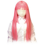 【在庫限定特価!】 空気少女★宇佐羽えあ えあ★うぃっぐ(ロング)ピンク