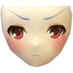 【限定100ポイント還元!】空気少女★宇佐羽えあ えあ★ますく FACE.09 ふきげん顔