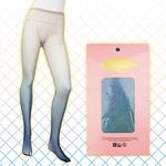 【販売終了・アダルトグッズ、大人のおもちゃアーカイブ】グラデーション網タイツ ブルー
