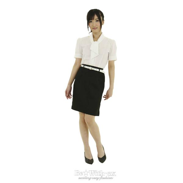 新米女子教師 Lサイズ  F0100BK ◇ 商品説明画像1