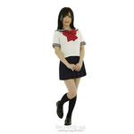セーラー服2(えんじリボン) Lサイズ F0020DR ◇