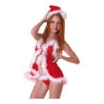 【在庫限定特価!】  サンタオープンキャミ&ショーツ PC010613 ◇