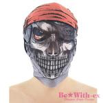 【値下げしました!】ホラーヘッドマスク パイレーツ