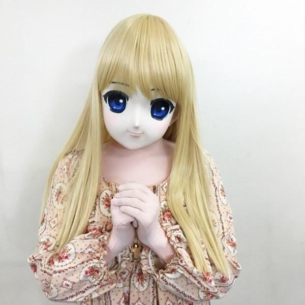 【販売終了・アダルトグッズ、大人のおもちゃアーカイブ】むにむに完成品マスク アリス 商品説明画像1