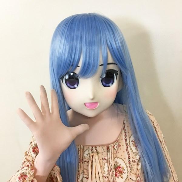 【販売終了・アダルトグッズ、大人のおもちゃアーカイブ】むにむに完成品マスク サラ 商品説明画像1