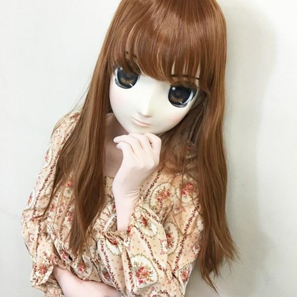 【販売終了・アダルトグッズ、大人のおもちゃアーカイブ】むにむに完成品マスク あおい 商品説明画像1