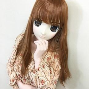 【販売終了・アダルトグッズ、大人のおもちゃアーカイブ】むにむに完成品マスク あおい