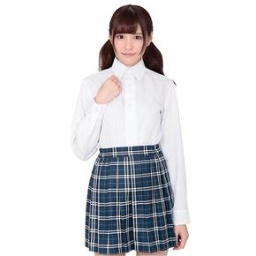 本気で盛れる長袖シャツ ホワイト ◇