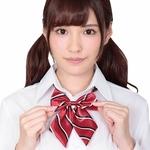 きゅん可愛スクールリボン レッドストライプ ◇