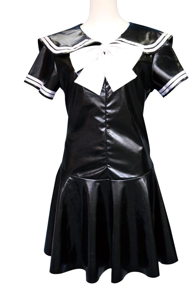 光沢エナメルセーラー服 おとこの娘用 TMT-956 商品説明画像2