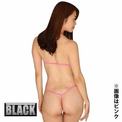 大胆過激なスパークマイクロブラ&Gスト ブラック ◇ 商品説明画像2
