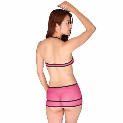 超極薄セクシー過ぎる魅惑のボディコン ピンク 商品説明画像2