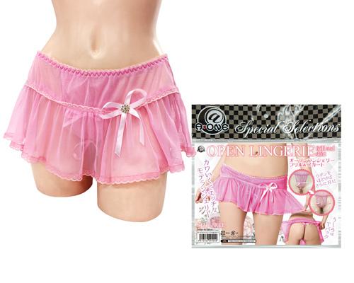 【販売終了・アダルトグッズ、大人のおもちゃアーカイブ】オープンランジェリー フリル&スカート 商品説明画像1