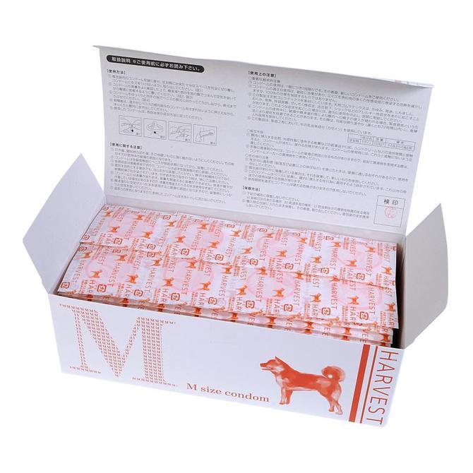 業務用コンドーム ニューハーベスト Mサイズ 144個入(中西ゴム) 商品説明画像2