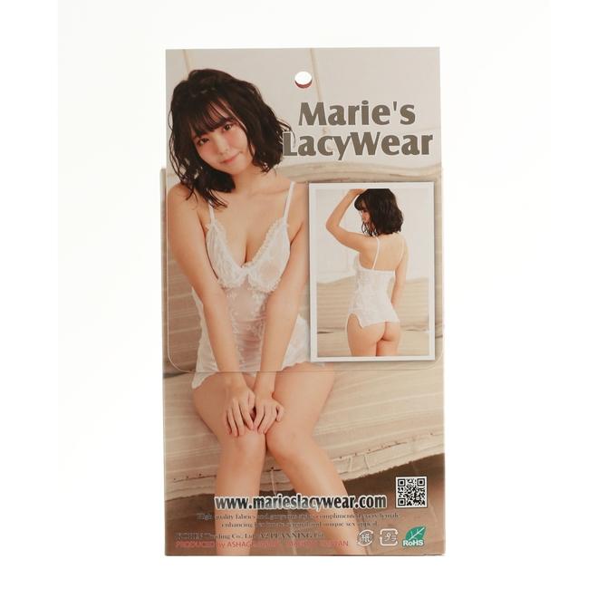 Marie'sLacyWear フローラル レースキャミホワイト 商品説明画像2