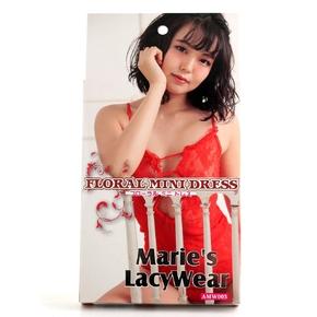 Marie'sLacyWear フローラル ミニドレス