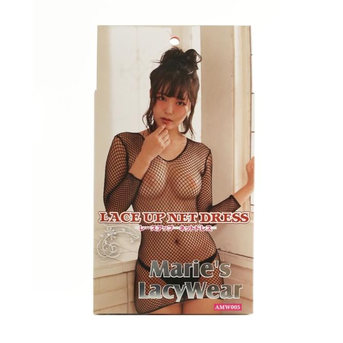 Marie'sLacyWear レースアップ ネットドレス 商品説明画像1