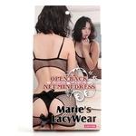 Marie'sLacyWear オープンバック ミニドレス