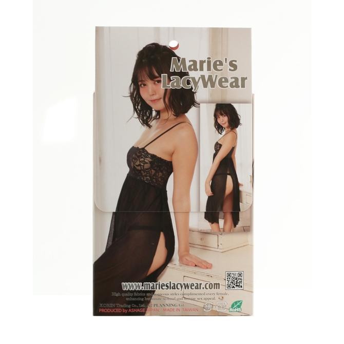 Marie'sLacyWear フローラル ロングサイドスリットドレス 商品説明画像2