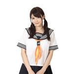 セーラースカーフ  オレンジH7077OR