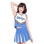 【20%ポイント還元!!体育祭フェア!】スカイ☆チア LサイズKF0025BL