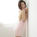 悩殺ニットA ピンク ◇
