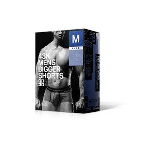 43K MENS BIGGER SHORTS BLUE/M     UGPR-155