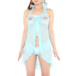 chu-U-chu	Lingerie Collection ラブリーベビードール(L-034)ブルー	2JT-LG332