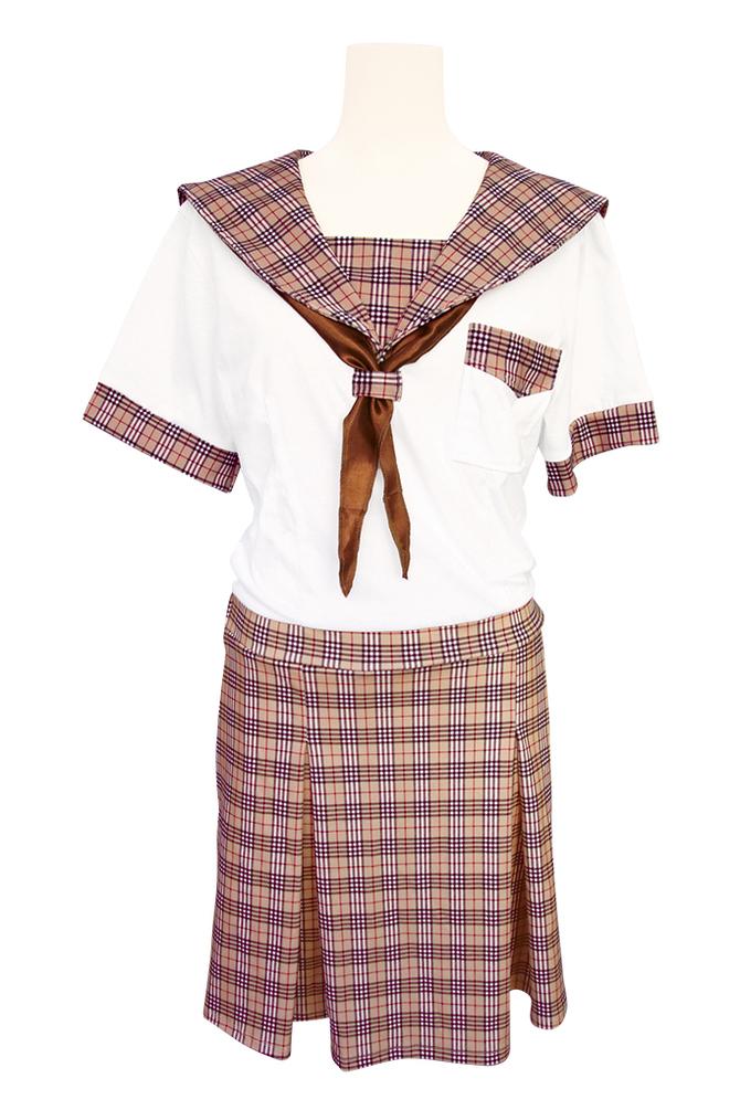 チェック柄制服パジャマ おとこの娘用TMT-1471 商品説明画像5